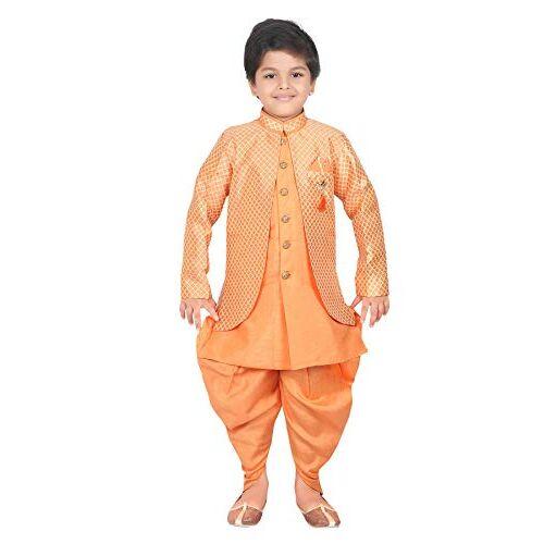 AHHAAAA Kids Ethnic Wear Waistcoat, Indo Western Sherwani and Dhoti Pant for Boys