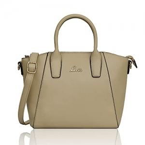 Lavie Pamukkale Olive Synthetic Solid Handbag