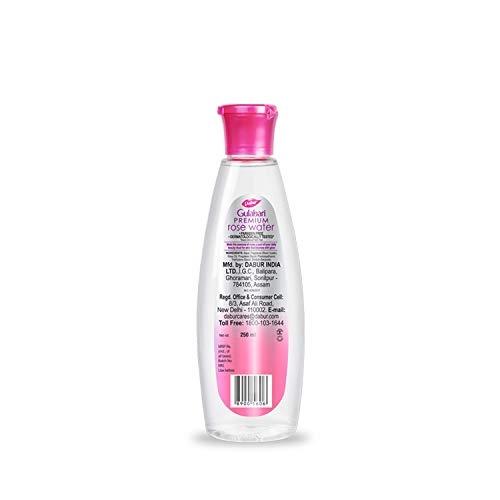 Dabur Gulabari Premium Rose Water with No Paraben for Cleansing and Toning