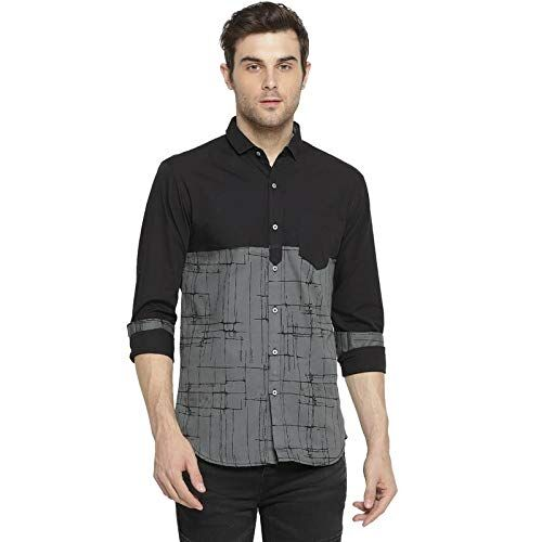 Campus Sutra Men's Printed Casual Shirt