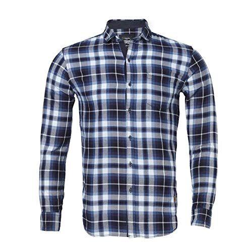Campus Sutra Men Checkered Casual Shirt