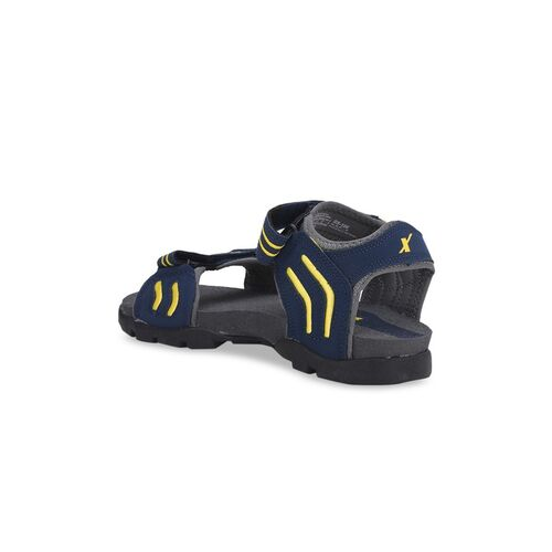Sparx SS-106 Men Navy Blue & Grey SS-106 Sports Sandals