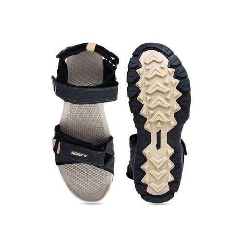 Sparx Men Black Sandals