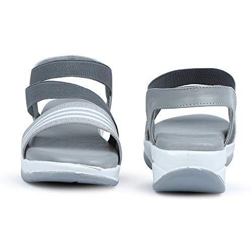 HimQuen Stylish Wedges Striped Design For Women's/Girls