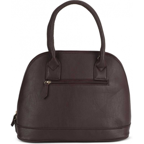 LAVIE Brown Artificial Leather Textured Hand-held Bag
