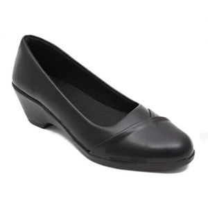 Adjoin Steps Stylish Formal Shoes for Women Black Formal Belly Shoes for Women/Light Weight Formal Belly Shoes_as_w103_Black