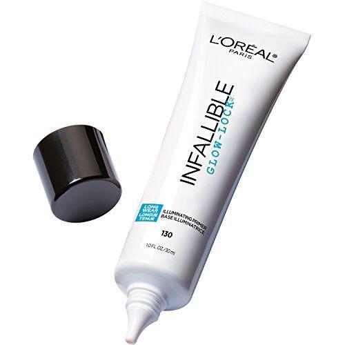 L'Oreal Paris Makeup Infallible Pro Glow-Lock Longwear Illuminating Face Primer, 1 Ounce