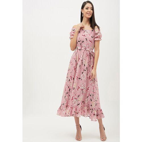 Harpa Women's Pink A-Line Dress