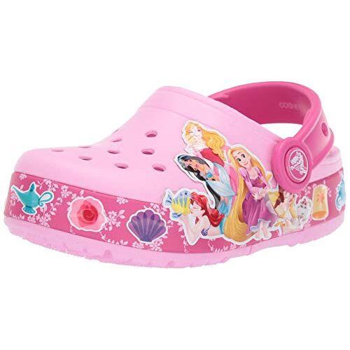 crocs Girl's Crocsfl Princess Band Lt CLG K Clogs