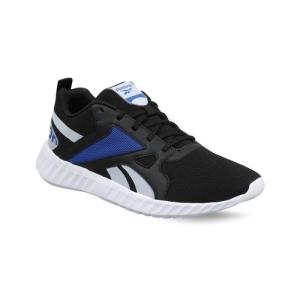 Men's Reebok Running Rout2 Black Mesh Running Sports Shoes