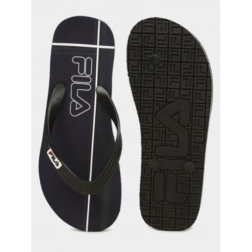 50e173c895a6d1 Buy Fila Men Navy   Black Cross Flip Flops online