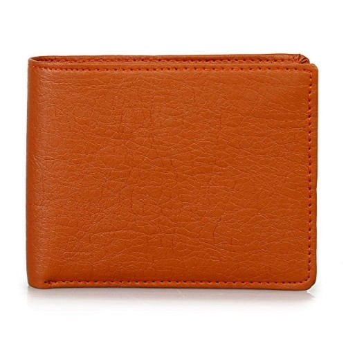 3505db89e56b Buy The Clownfish Brown Leather Solid Men s Wallet online ...