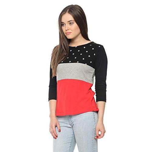 Vvoguish Multicolor Regular Fit Cotton Top