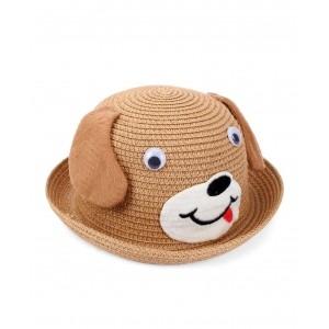 Babyhug Brown Hat Puppy Design