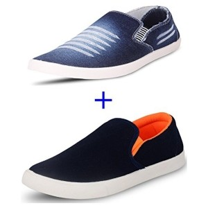SCATCHITE Combo Pack of 2 Trendy Loafers