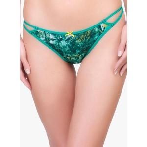 Inner Sense Green Organic Antimicrobial String Bikini