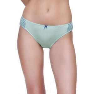 Inner Sense Women's Bikini Green Panty