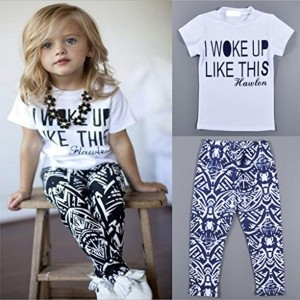 Generic Imported Kids Baby Girls Outfit Clothes