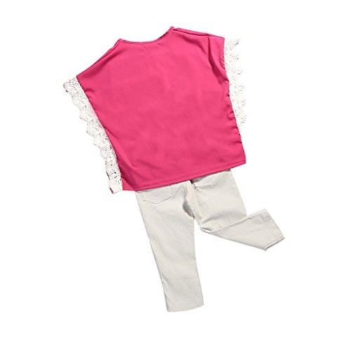 Generic Imported Grils Kids Jeans Top+Pants Set