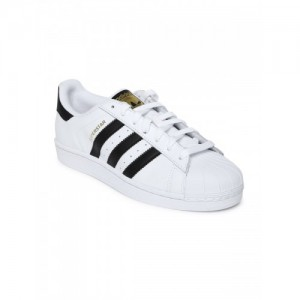 f5e5ea8c335a49 Adidas Unisex Superstar Foundation Leather Sneakers