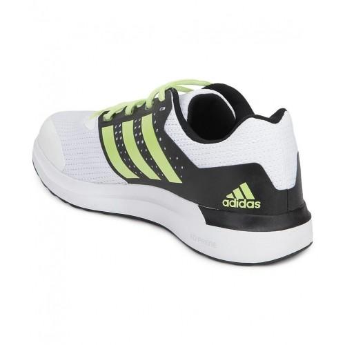 best loved d14f9 e0da2 ... Adidas Duramo Elite White  Black Running Shoes ...