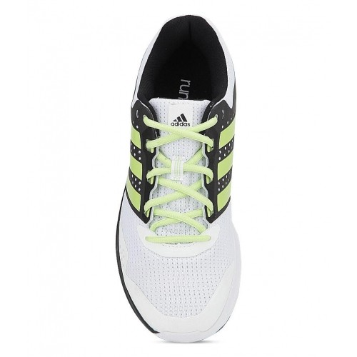 Adidas Duramo Elite White & Black Running Shoes