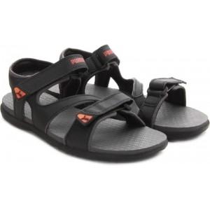 Puma ElegoDP Black Women Sports Sandals
