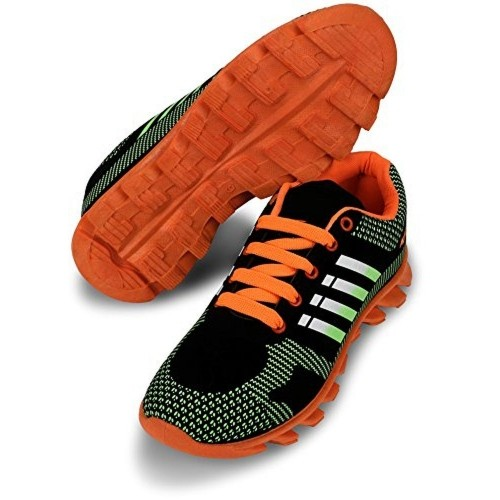 Chevit Multicolor Synthetic Leather Blade Running Shoes