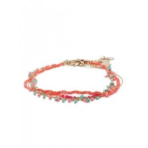 Accessorize Multicoloured Beaded Bracelet