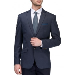 Canary London blue satin formal blazer