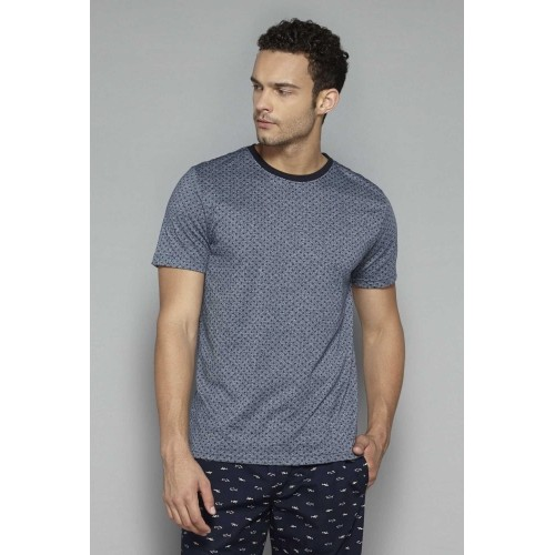 Bodybasics by Westside Grey Printed T Shirt