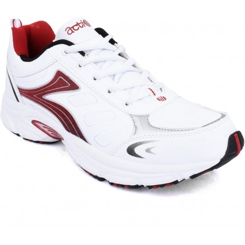 Buy Action Shoes White   Red Running Shoes online  34c929c8a