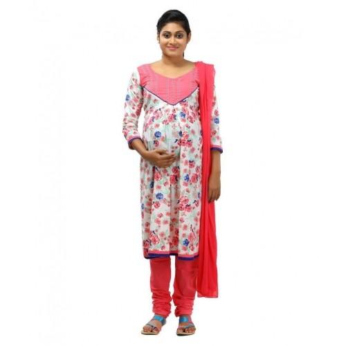 666dcc64add24 Buy Ziva Maternity Wear White Cotton Maternity online | Looksgud.in