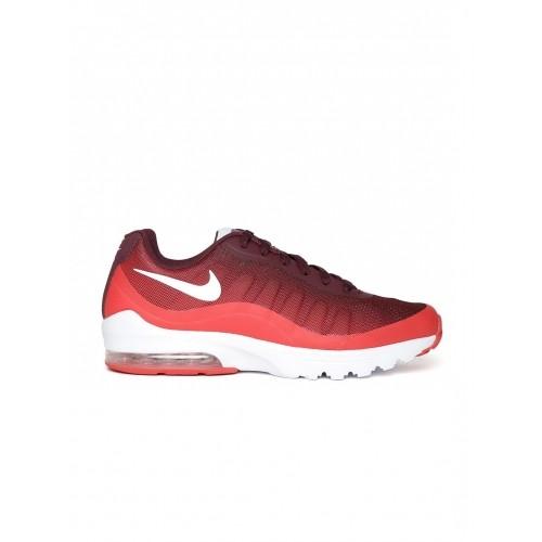 new arrival aaeec 20661 ... Nike Burgundy Air Max INVIGOR Print Sports Shoes ...