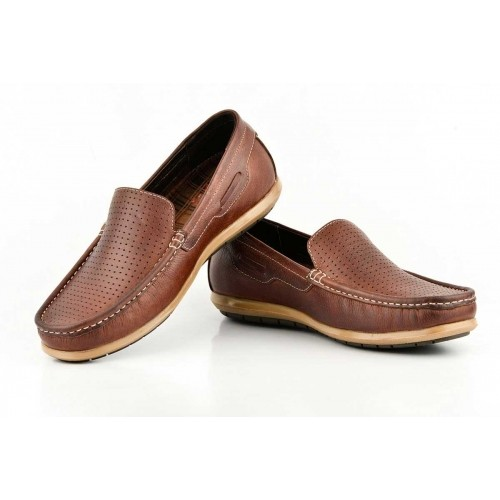 d0b6e40cd6a Buy Lee Cooper 13 2136 Brown Synthetic Leather Casual Loafers ...