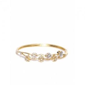 Zaveri Pearls Golden Stone-Studded Bracelet