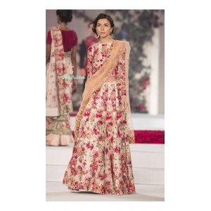 sareeka sarees multi color bhagalpuri silk lehenga choli by sareeka sarees