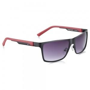 Fastrack Purple UV Protected Rectangular Unisex Sunglasses
