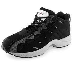 Lancer Black Sports Shoes For Men