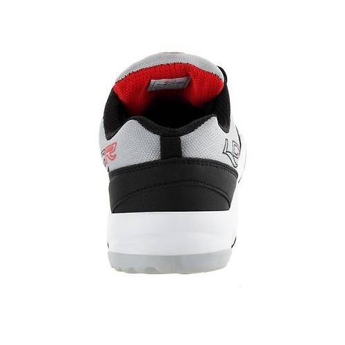 Lancer Cuba-114 Black Mesh Lace Up Sports Shoes