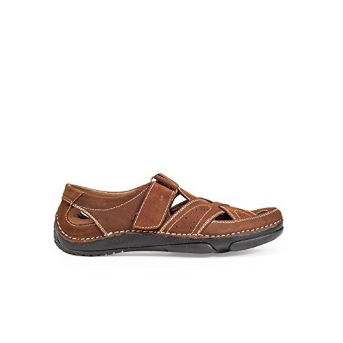 British Walkers Brown Leather Sandals