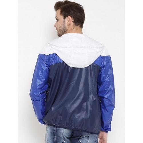 Buy Adidas NEO White & Blue CS SNG LAY ColorBlock Jacket