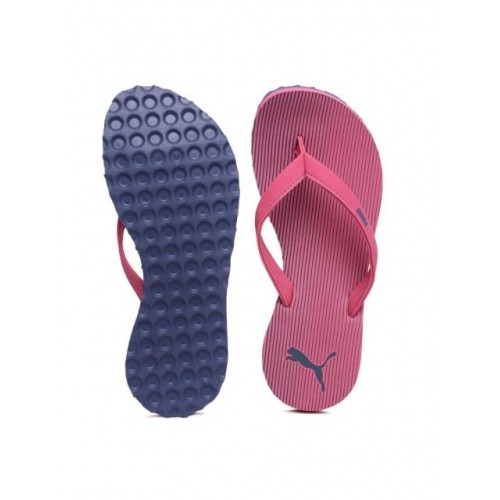 Puma Ribbons Idp Pink Flip Flops For Men