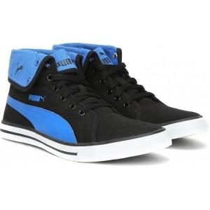 Puma Carme Mid IDP Blue & Black Sneakers
