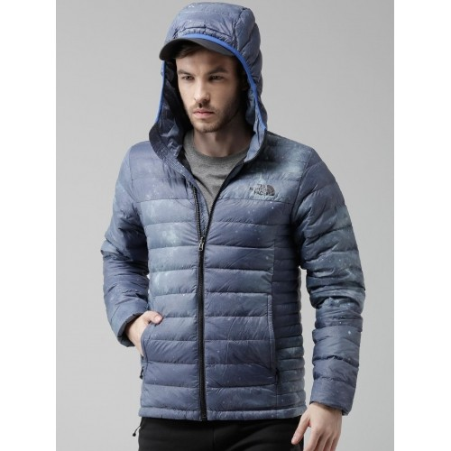354dab4a9 Buy The North Face Blue Manchuria II Hooded Galactic Print Outdoor ...