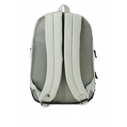 Tommy Hilfiger Grey Unisex Polyester Backpack