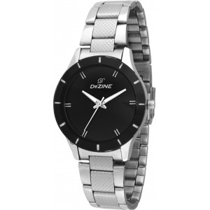 Dezine DZ-LR065-BLK-CH Decker Analog Watch For Women