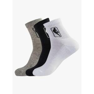 NBA Printed Pack Of 3 Assorted Socks