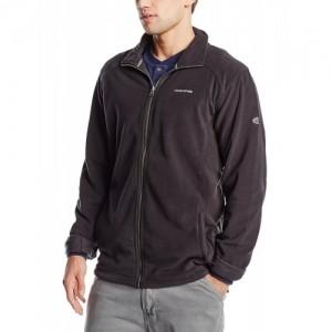 Craghoppers Black Solid Polyester Fleece Jacket