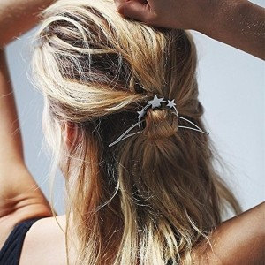 Young & Forever Silver Metal Hair Clip